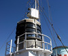 HMCS Sackville, Halifax, Nova Scotia, 3 October 2005 19.  Housing for the type 271 radar.