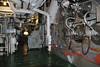 HMS Belfast, London, 19 September 2007.  Forward boiler room, one of two.