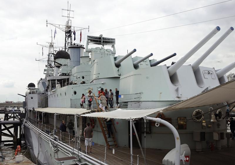 HMS Belfast, London, 3 September 2013