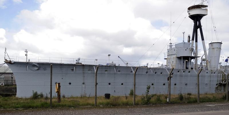 HMS Caroline, Alexandra Dock, Belfast, Tues 15 May 2012 5.