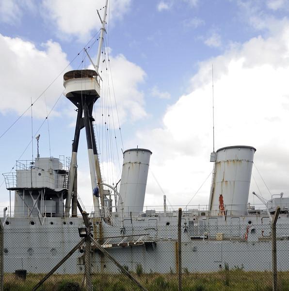 HMS Caroline, Alexandra Dock, Belfast, Tues 15 May 2012 8.
