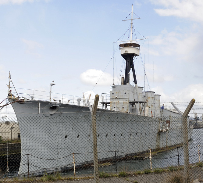HMS Caroline, Alexandra Dock, Belfast, Tues 15 May 2012 4.