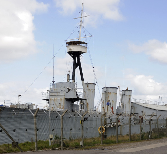 HMS Caroline, Alexandra Dock, Belfast, Tues 15 May 2012 6.