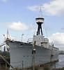 HMS Caroline, Alexandra Dock, Belfast, Tues 15 May 2012 3.