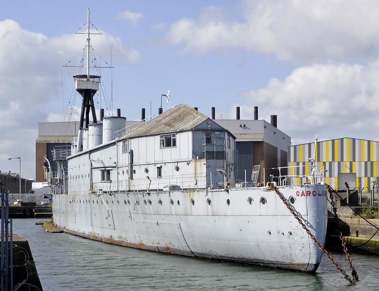 HMS Caroline, Alexandra Dock, Belfast, Tues 15 May 2012 11.