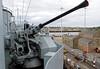 HMS Cavalier, Chatham dockyard, Sat 9 June 2012 7.  40mm Bofors Mk VII.