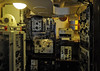 HMS Cavalier, Chatham dockyard, Sat 9 June 2012 12.  Bridge wireless telegraphy office.
