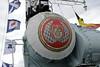 HMS Cavalier, Chatham dockyard, Sat 9 June 2012 14.  Gunnery control radome.