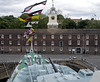 HMS Cavalier, Chatham dockyard, Sat 9 June 2012 5.  Looking towards the clocktower building.