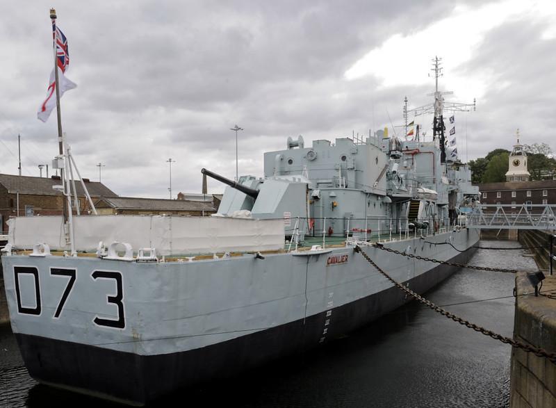 HMS Cavalier, Chatham dockyard, Sat 9 June 2012 3