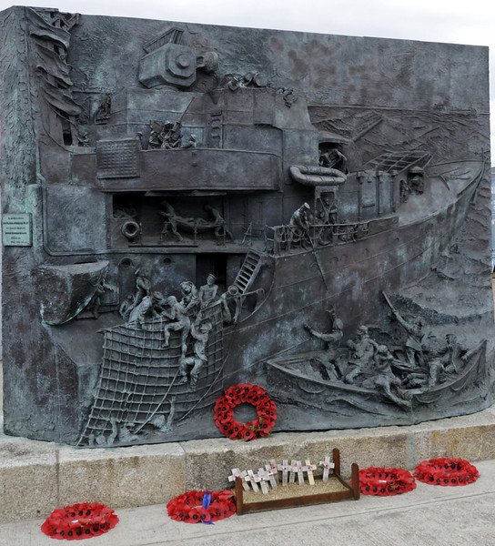 The destroyer memorial 1939 - 1945, Chatham dockyard, Sat 9 June 2012 2.  ...they are not forgotten.