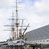 HMS Gannet, Chatham historic dockyard, Sat 9 June 2012 2