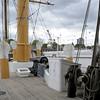 HMS Gannet, Chatham historic dockyard, Sat 9 June 2012 7.  Looking forward.