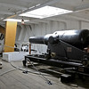 HMS Gannet, Chatham historic dockyard, Sat 9 June 2012 10.  64 pound muzzle loader, with a range of about 1.5 miles.
