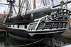 HMS Trincomalee, Hartlepool, Tues 10 August 2010 7.  Trincomalee's stern was modified in 1847, and has been preserved in that condition.