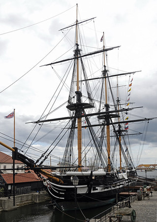 HMS Trincomalee, Hartlepool, 2010