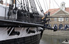 HMS Trincomalee, Hartlepool, Tues 10 August 2010 10.  The building in the background is part of the modern Hartlepool historic quay, which has been built around Trincomalee.