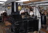HMS Trincomalee, Hartlepool, Tues 10 August 2010 22.  Galley stove, on the gun deck.  It prepared meals for the entire crew.