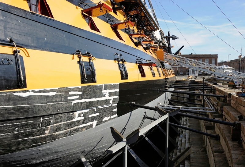 HMS Victory, Portsmouth, Mon 2 September 2013 2