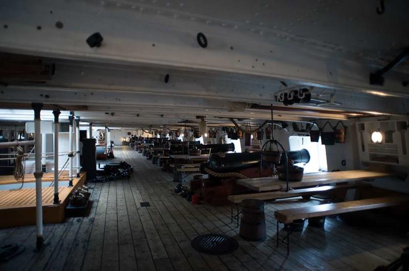 Main deck, HMS Warrior, Portsmouth, 11 March 2014 1.