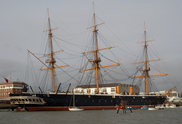 HMS Warrior, Portsmouth, 5 March 2007