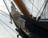 Replacement figurehead, HMS Warrior, Portsmouth, 5 March 2007