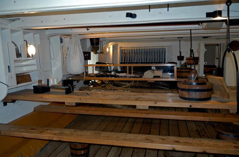 Main deck, HMS Warrior, Portsmouth, 5 March 2007 2