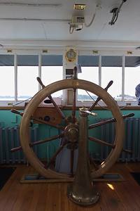 """Portland"" Steam Tug Wheelhouse"