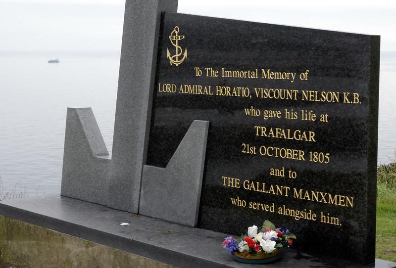 Trafalgar memorial, Douglas Head, Isle of Man, Fri 30 July 2010