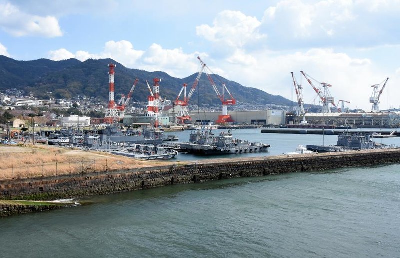 JMSDF small craft, Kure, 1 April 2019.