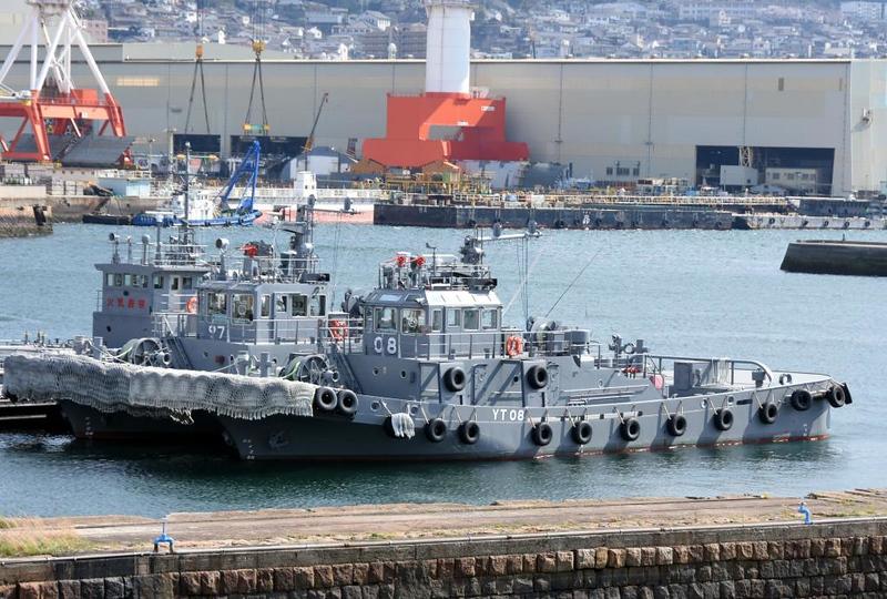 JMSDF YT08, Kure, 1 April 2019.