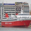 The 1980 built 'Phivos' has had several owners since her original ( (ISNASA),  She seems to have spent most of her life in the Med, coming to Nova ferries in 2007, since which she sails mainly between Piraeus and Aegina.