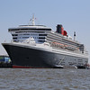 The mighty Queen Mary 2 at berth in Hamburg on 12th June 2015. It's almost as if this city has adopted the ship as, EVERY TIME she sails from there, thousands of people turn out to cheer and whistle as she sails by. Quite an experience if you are lucky enough to be on board!