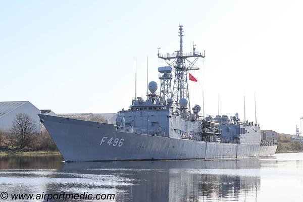 HS Bouboulina F463 Turkish Navy