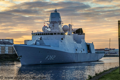 HDMS Peter Willemoes F362 Royal Danish Navy
