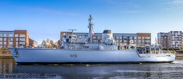 HMS CATTISTOCK (M31)