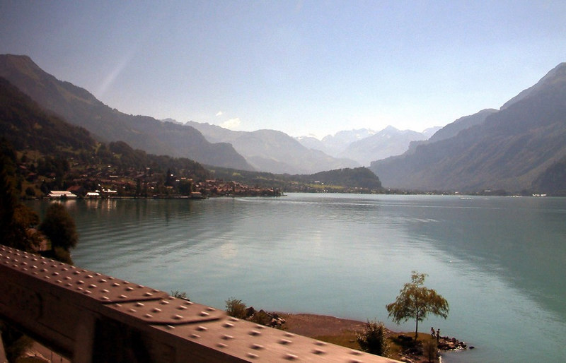 Lake Brienz from the train
