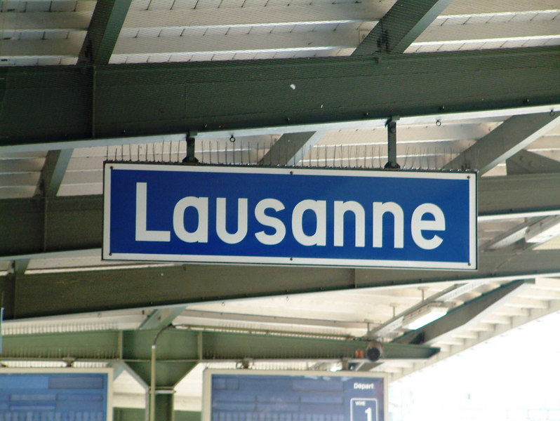 Lausanne - on Lake Leman - base of the International Olympics Committee