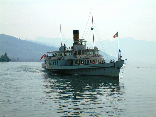 Lake Leman and its steamers