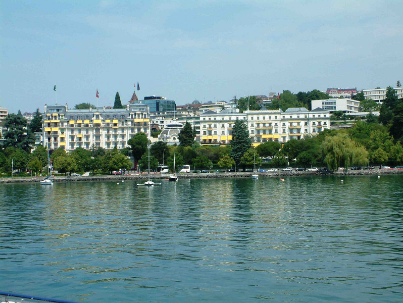 Beau Rivage Hotel, Lausanne-Ouchy