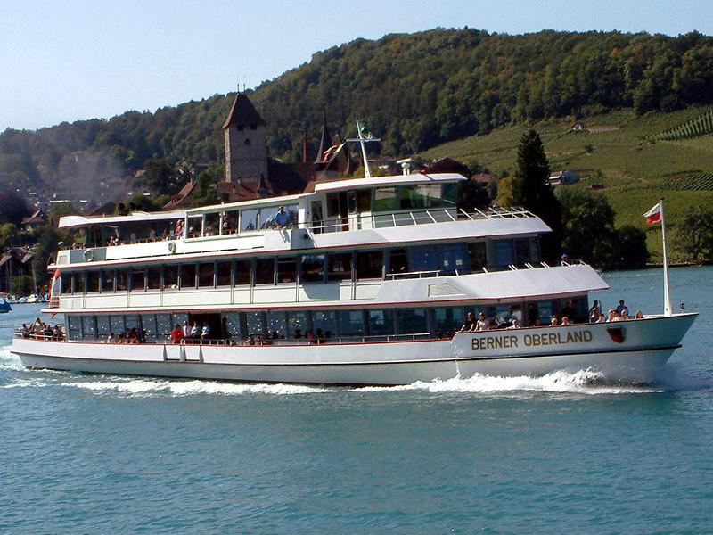 Motor vessel Berner Oberland off Spiez