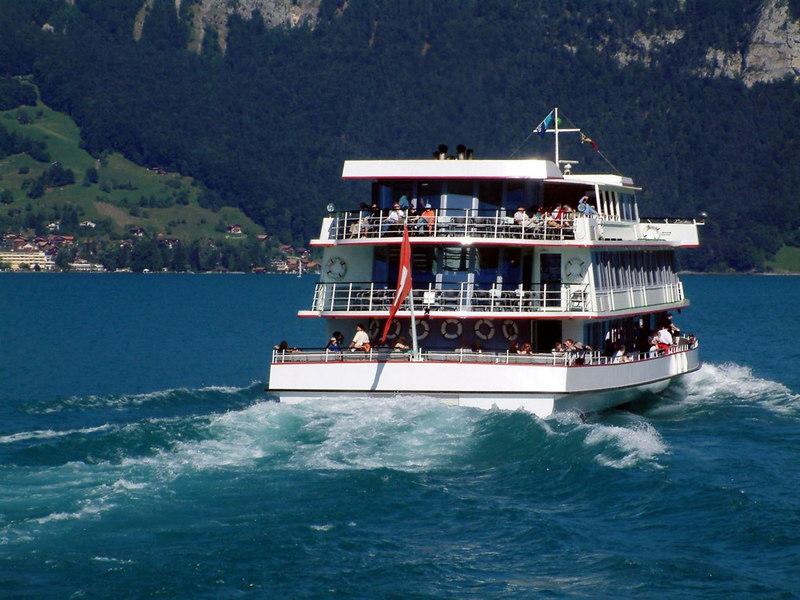 Motor vessel Berner Oberland on Lake Thun