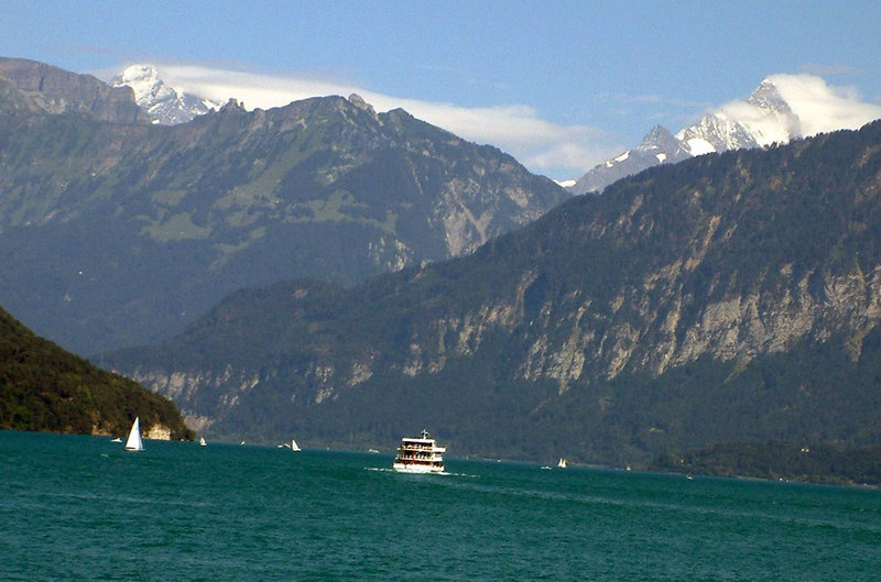 Motor vessel Berner Oberland on Lake Thun