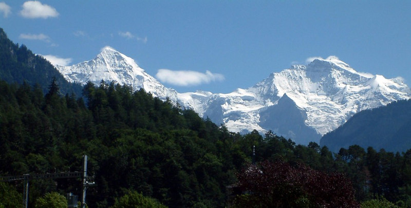 Monch and Jungfrau