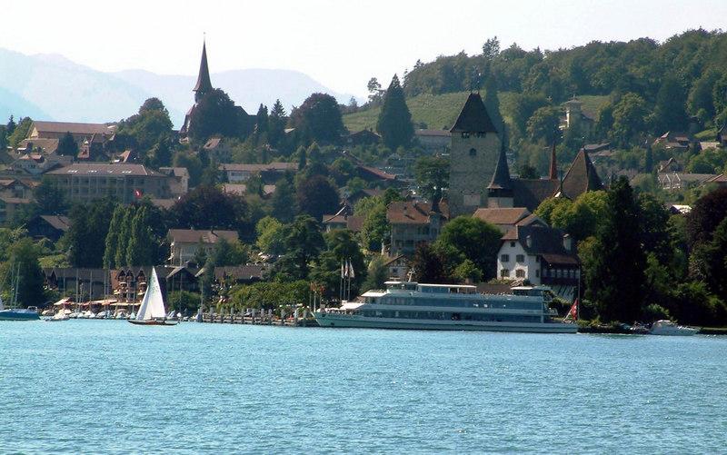 Motor vessel Berner Oberland at Spiez
