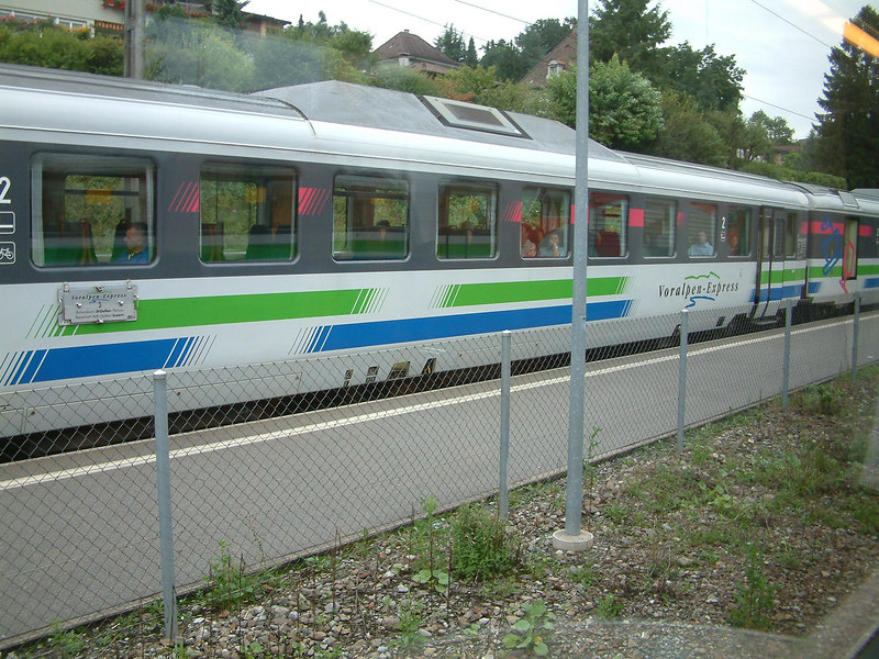 The Voralpen Express from Luzern