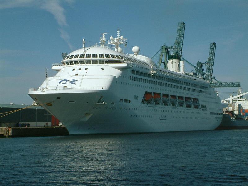 Regal Princess at Greenock Ocean Terminal
