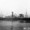 """ss NAPIERSTAR<br /> Yard No 786<br /> 4 steam turbine engines, built by the Parsons Marine Steam Turbine Co. Ltd, Wallsend-on-Tyne, single reduction geared to twin shafts.<br /> Launched: Thursday, 05/08/1926 as RALEIGHSTAR for Blue Star Line Ltd London<br /> Career:<br /> <a href=""""http://www.clydesite.co.uk/clydebuilt/viewship.asp?id=18111"""">http://www.clydesite.co.uk/clydebuilt/viewship.asp?id=18111</a>"""