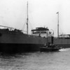 "mv BRITISH VALOUR<br /> Yard No 796<br /> Engines by J G Kincaid & Co Ltd, Greenock<br /> Propulsion: Oil 4S CSA 8cy 653nhp machy aft<br /> Launched: Wednesday, 31/08/1927 for the British Tanker Company. <br /> <br /> From 1913 onwards the tanker became a major product of Lithgows of Port Glasgow. In the 70 years to 1983, when they produced their last such vessel, the company built 96 tankers including 24 for the British Tanker Company / BP Tanker Company. British Valour was the second vessel for BTC and first of a series of six built in the period 1927-31.<br /> <br /> Career:<br /> <br /> <a href=""http://www.clydesite.co.uk/clydebuilt/viewship.asp?id=18121"">http://www.clydesite.co.uk/clydebuilt/viewship.asp?id=18121</a><br /> <br /> Although, by this time the Lithgow shipbuilding group included two marine engine building subsidiaries, David Rowan & Co of Glasgow and Rankin & Blackmore of Greenock, they purchased the engines for their early motor vessels from the renowned Greenock enginebuilder John G Kincaid & Co Ltd - see next picture.<br /> <br /> She is seen in this view just after her launch with the Clyde Shipping Company's paddle tug Flying Scotsman in attendance. The Clyde Shipping Company was one of the oldest shipping concerns in the world having been established in 1814, two years after steam powered navigation had first appeared in European coastal waters (on the Clyde). Eventually their large fleet of tugs adopted the common 'Flying' nomenclature a tradition that continued until the tragic loss of the Flying Phantom on the river in 2007 (although the Clyde Shipping Company ceased towage on the river in 1996). Flying Scotsman was constructed by the famous tug building firm of J P Rennoldson at South Shields on the Tyne in 1898, replacing an earlier vessel of the same name built 1886 by the other famous South Shields steam tug builder, J T Eltringham. She had replaced an earlier tug, also built by Eltringham, which had been named Flying Scotchman. Flying Scotsman became the last steam paddle tug in service on the Clyde. She was demolished at Troon in 1951."