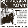 The Strathclyde Paint Company based in Dalmarnock was another major supplier of marine paints and varnishes to the Clyde shipbuilding industry.